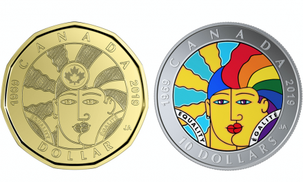 "News: Commemorative Loonie Marks ""50 Years of Progress"" for LGBTQ2 in Canada"