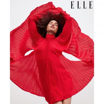 Fashion: Indya Moore is ELLE's First Transgender Cover Model