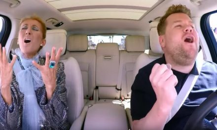 "Watch This: Céline Dion and James Corden Recreate Titanic for ""Carpool Karaoke"""