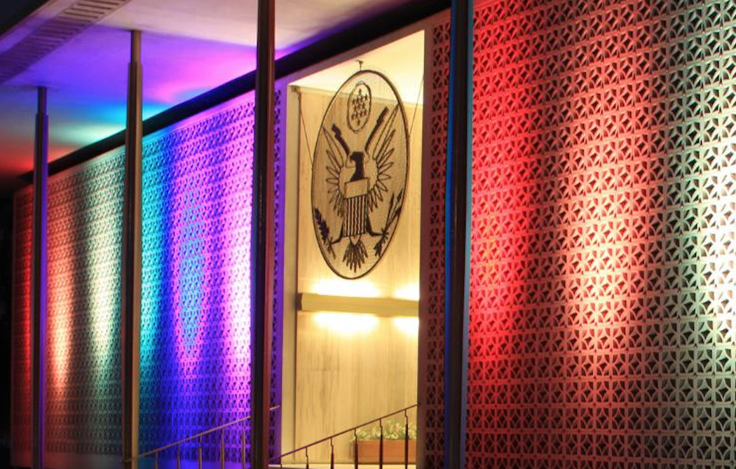 News: Embassies Defy Trump And Fly Rainbow Flag