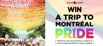 Contest: Win a Trip to Montréal Pride, Courtesy of Adam4Adam