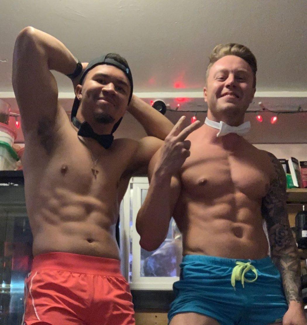 shirtless barista A4A