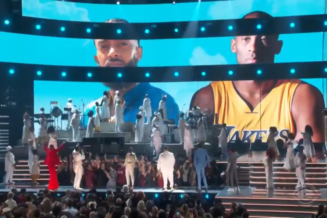 Entertainment: Grammys 2020—Kobe Bryant, Nipsey Hussle Honored & Remembered