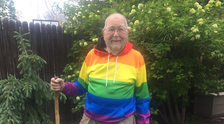 News: 90-Year-Old Man Comes Out as Gay During Pride Month