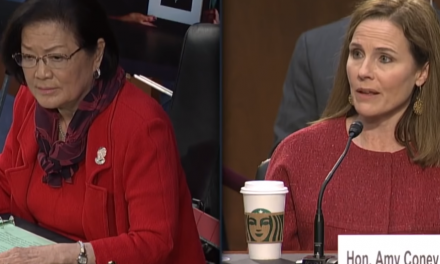 News: Senator Hirono Calls Out Barrett for Using the Slur 'Sexual Preference'