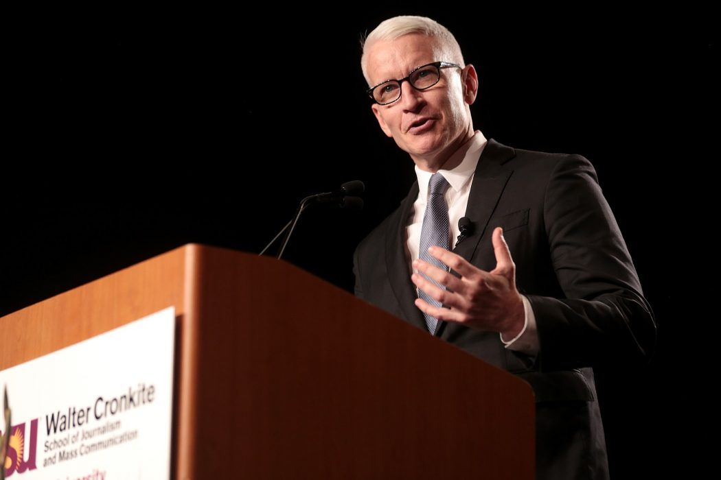 Celebrities: Anderson Cooper Shares When He Realized and Accepted He was Gay