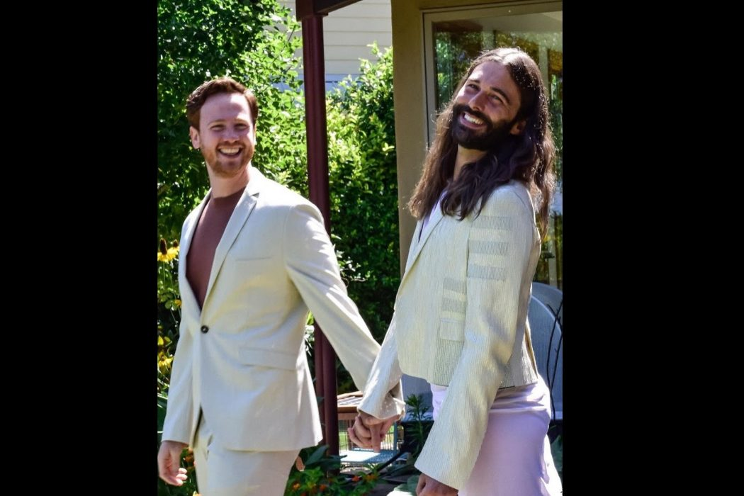 Celebrities: 'Queer Eye' Star Jonathan Van Ness Reveals He's Now Married