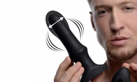 Sex Toys : Say Hello to Swell Inflatable Vibrating Anal Plug!