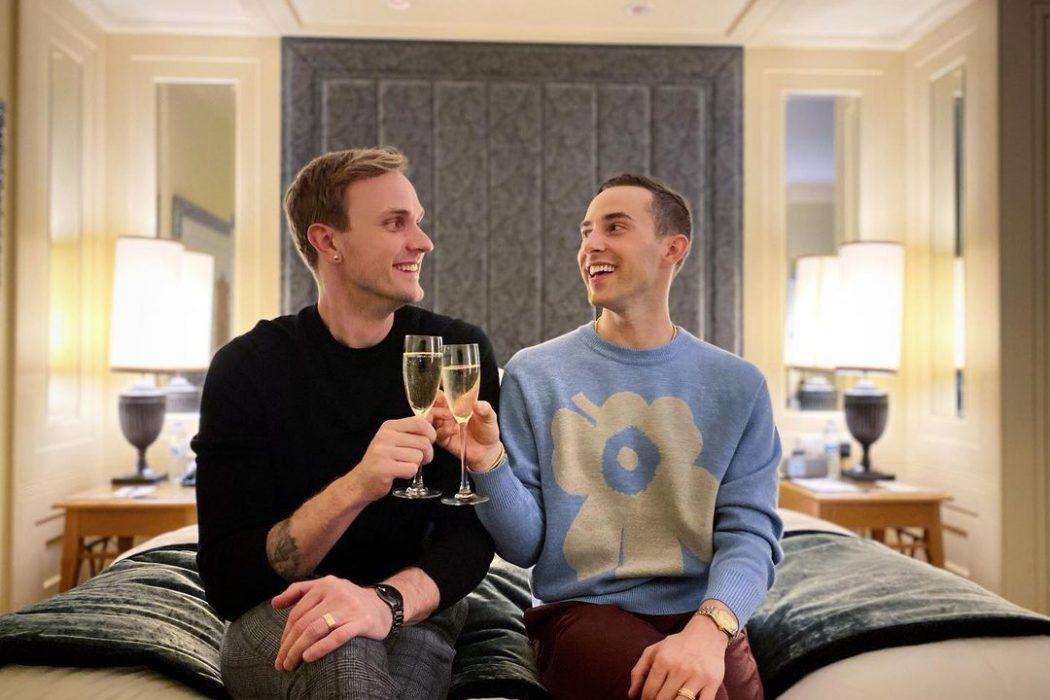 News: Olympian Adam Rippon Announces Engagement to Jussi-Pekka Kajaala