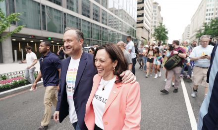 Pride: KAMALA HARRIS BECOMES FIRST SITTING VICE PRESIDENT TO MARCH IN PRIDE EVENT