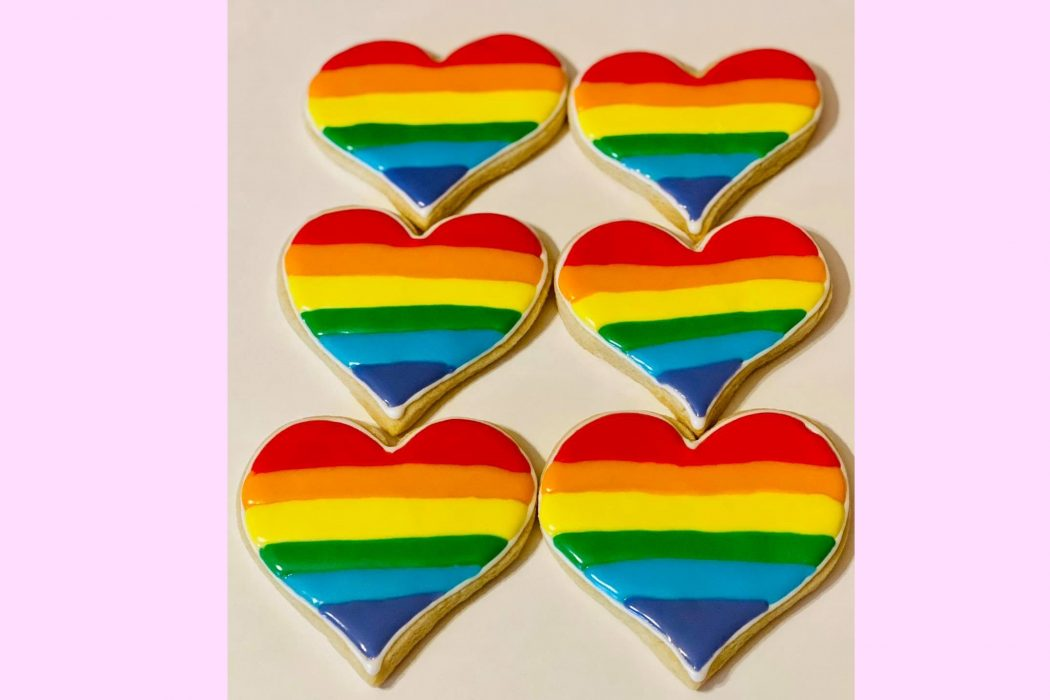 NEWS: COMMUNITY SUPPORTS BAKERY AFTER BACKLASH OVER RAINBOW PRIDE COOKIES