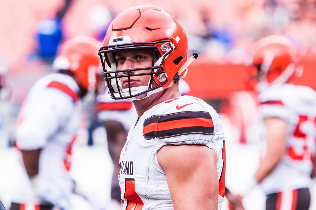 Sports: NFL Player Carl Nassib Comes Out As gay