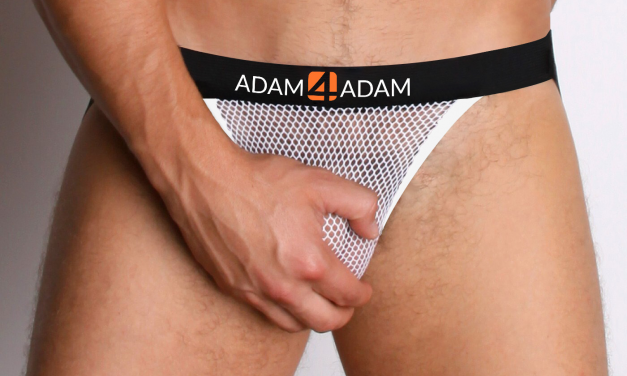 Show Off in Style with our New White Mesh Jockstrap & Tank Top