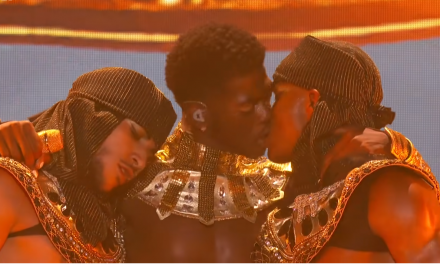 Entertainment: Lil Nas X Claps Back AT Haters Over BET Awards Ssame-Sex Kiss